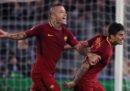 La Roma ha vinto 3-0 contro il Chelsea in Champions League