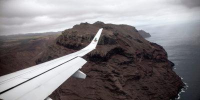 Un aereo commerciale è atterrato per la prima volta a Sant'Elena