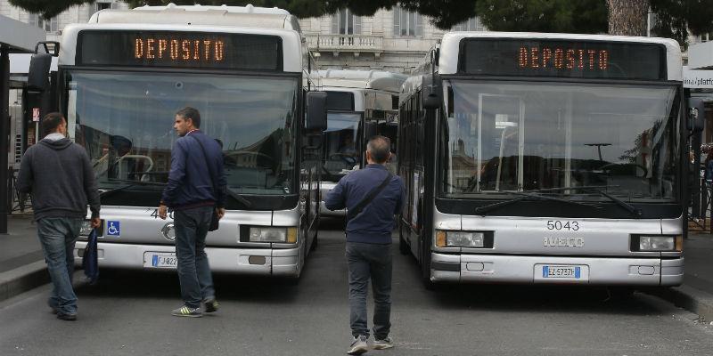 Roma: venerdì 13 ottobre sciopero bus e tram