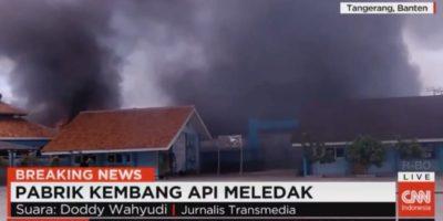 Indonesia, esplosa fabbrica di fuochi d'artificio: 27 morti