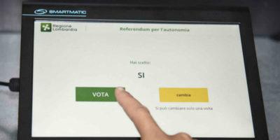 Il pasticcio del voto elettronico in Lombardia