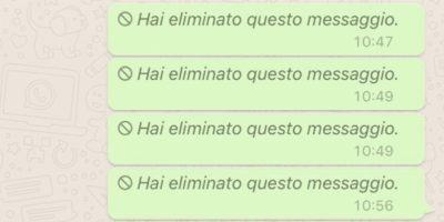 Su Whatsapp si potranno cancellare i messaggi dopo averli inviati
