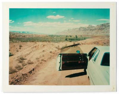 Wim Wenders ha fatto anche polaroid