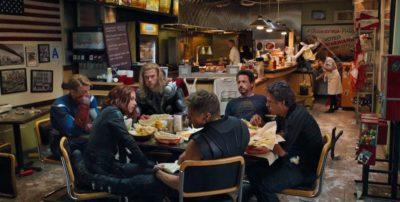 A tavola, al cinema