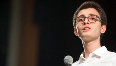 Il 21enne deputato regionale siciliano Luigi Genovese è indagato per riciclaggio ed evasione fiscale