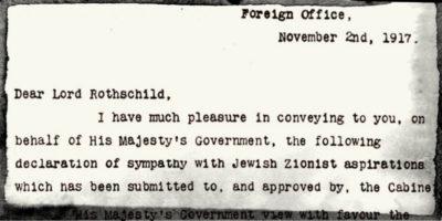 Le 67 parole da cui nacque Israele