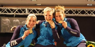 Bebe Vio ha vinto l'oro nel fioretto a squadre ai Mondiali paralimpici