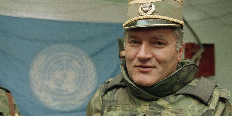 Mladic condannato all'ergastolo dal tribunale dell'Aja