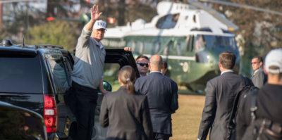 A Trump piace un sacco passare il tempo nelle sue residenze