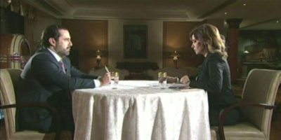 La strana intervista a Saad Hariri