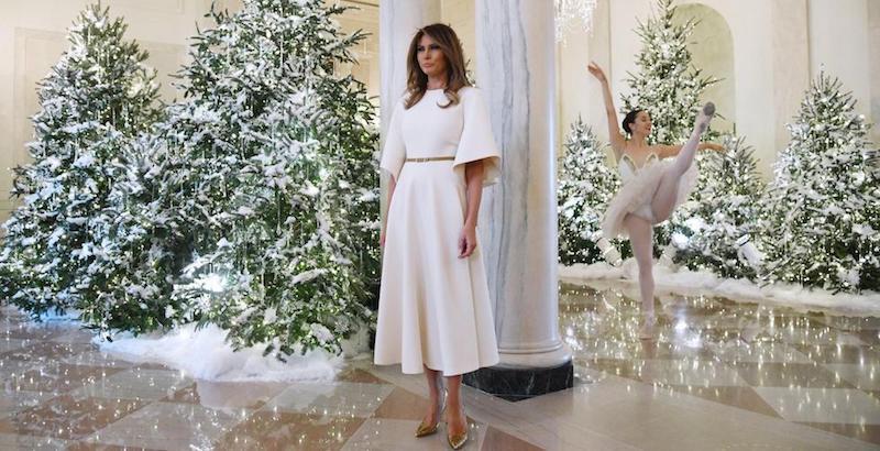 Decorazioni Natalizie Ballerine.Natale Alla Casa Bianca Il Post