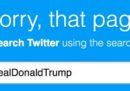 Donald Trump è stato cancellato da Twitter, per 11 minuti