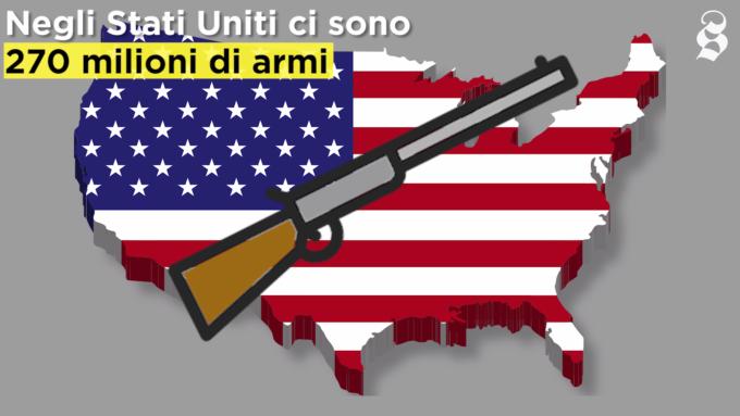 Perché negli Stati Uniti ci sono così tante sparatorie di massa?