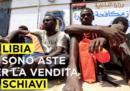 In Libia ci sono aste per la vendita di schiavi