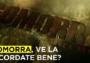 Videoripasso di Gomorra, in tre minuti