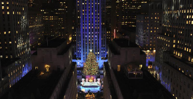 Immagini Natale A New York.A New York Sono Proprio Iniziate Le Feste Di Natale Il Post