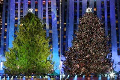 Albero Di Natale New York.A New York Sono Proprio Iniziate Le Feste Di Natale Il Post