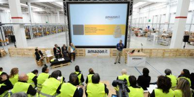 Ci sarà uno sciopero nel centro di distribuzione di Amazon a Piacenza durante il Black Friday