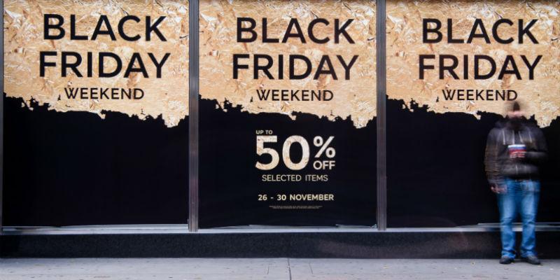 Il Black Friday inizia domani, in un certo senso