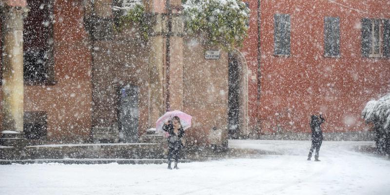 Le foto della neve a bologna il post - Immagini da colorare la neve ...