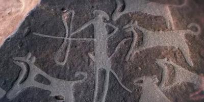 I più antichi disegni di cani addomesticati mai trovati, forse