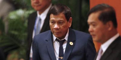 Duterte ha detto che da ragazzo ha accoltellato a morte una persona