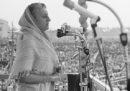 Che vita che ha avuto, Indira Gandhi