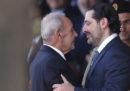 Saad Hariri ha rimandato le sue dimissioni