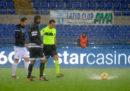 La partita di Serie A tra Lazio e Udinese è stata rinviata per pioggia