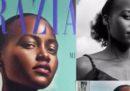 I capelli di Lupita Nyong'o sono stati cancellati su una copertina dell'edizione britannica di Grazia