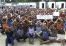 C'è un'emergenza umanitaria a Manus, in Papua Nuova Guinea