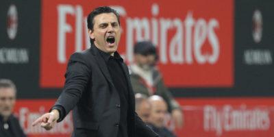 Il Milan ha esonerato Vincenzo Montella