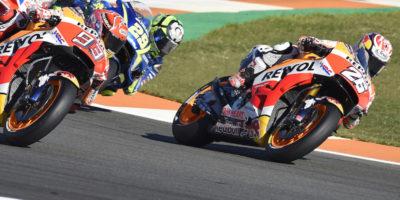 MotoGP, l'ordine di arrivo del Gran Premio di Valencia