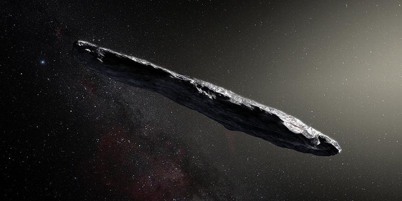 Oumuamua, il misterioso visitatore interstellare ha un