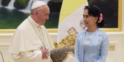 La complicata visita del Papa in Myanmar