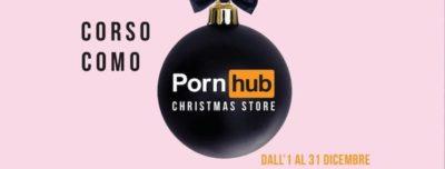 Pornhub apre un negozio a Milano