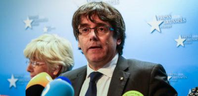 È stato emesso il mandato d'arresto per Carles Puigdemont