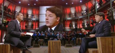 Il video di Matteo Renzi a DiMartedì
