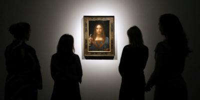 """Il quadro """"Salvator Mundi"""" di Leonardo da Vinci è stato venduto per 450 milioni di dollari"""