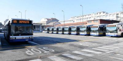 Lo sciopero dei mezzi pubblici GTT in corso a Torino