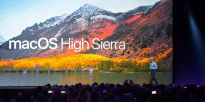 Apple ha risolto la grave falla nella sicurezza di macOS High Sierra