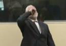 Il criminale di guerra croato Slobodan Praljak è morto dopo aver bevuto veleno in tribunale