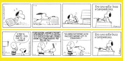 Biografia di Snoopy, a strisce