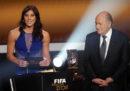La portiera della Nazionale statunitense Hope Solo ha accusato di molestie sessuali l'ex presidente della FIFA Sepp Blatter