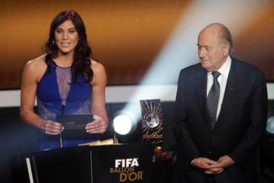 Star del calcio femminile accusa Blatter di molestie