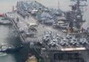 Un aereo della Marina militare statunitense è precipitato nell'oceano Pacifico vicino al Giappone, c'erano 11 persone a bordo