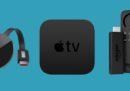 Apple TV,  Chromecast e Fire Stick, a confronto
