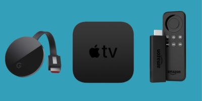 Apple TV,  Chromecast e Fire Stick, a confronto