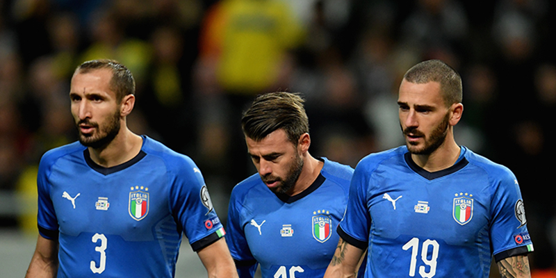 Pronostici spareggio Mondiali: Multigol casa 2-3 di Italia-Svezia a 2,20
