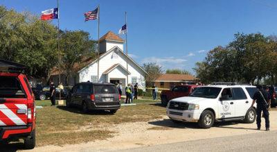 La strage nella chiesa in Texas